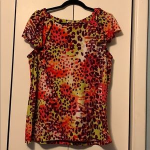 Anne Klein Blouse Multicolored Gently Preowned